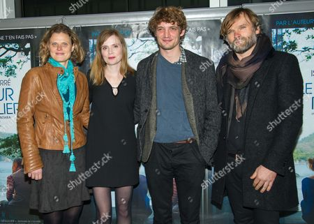 Editorial picture of 'Le Coeur Regulier' film premiere, Paris, France - 21 Mar 2016