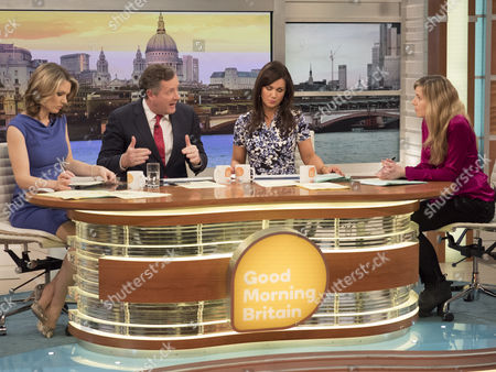 Charlotte Hawkins, Piers Morgan, Susanna Reid, Philippa Tomson