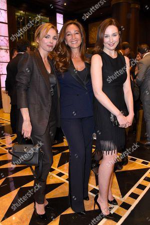 Claire Keim, Katia Toledano and Elsa Zylberstein