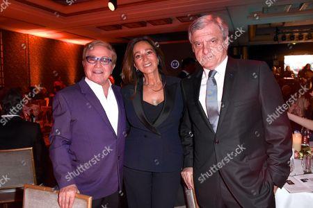 Michou, Katia Toledano and Sidney Toledano