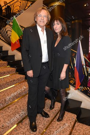 Alexandre Arcady and wife