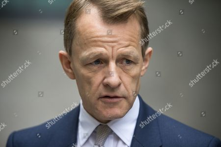 Stock Picture of David Laws leaves BBC Broadcasting House