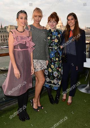 Laura Jackson, Amber Le Bon, Alice Levine, Sophie Hulme
