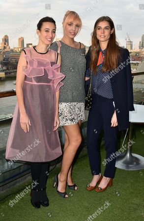 Laura Jackson, Amber Le Bon, Sophie Hulme
