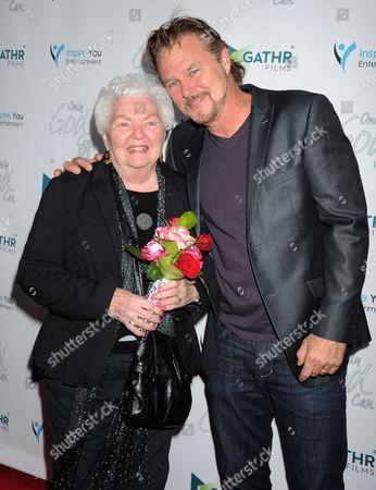 Greg Evigan and his mother Barbara