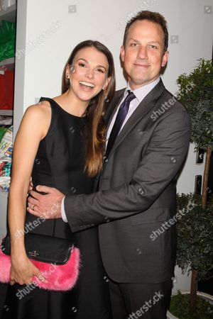 Sutton Foster and husband Ted Griffin