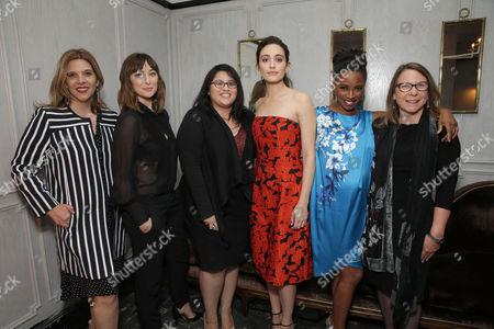 Krista Vernoff, Isidora Goreshter, Yvonne Villarreal, Emmy Rossum, Shanola Hampton, Nina Ruscio
