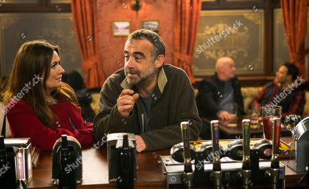 Kevin Webster, Michael Le Vell, pleased when Jason Grimshaw, Ryan Thomas, and Phelan, Connor McIntyre, assure him they should finish the Arches today. Anna Windass, Debbie Rush, overhears Phelan on the phone unsuccessfully touting for more work. Phelan then sneaks into the Arches and sabotages the fuse box. When Jason switches on the lights there's a loud bang. Phelan tells Kevin they can sort it but I'll mean another week's work. Kevin's grateful, while Anna tells Kevin she reckons Phelan tampered with it himself as she knows he's short of work. Will Kevin buy this?