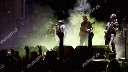 Stock Picture of Fields Of The Nephilim - Carl McCoy, Tony Pettitt, Gav King, Lee Newell