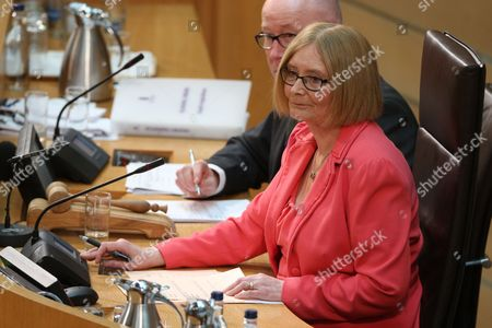 Rt Hon Tricia Marwick, The Presiding Office of The Scottish Parliament