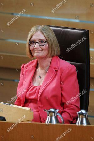Editorial photo of Dissolution of Parliament group, Scottish Parliament, Edinburgh, Scotland, Britain - 23 Mar 2016
