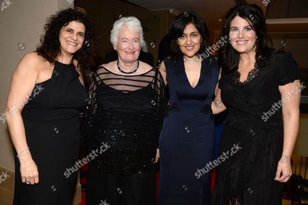 Editorial image of 'Despite the Falling Snow' charity gala screening in aid of the Nelson Mandela Children's Fund at The May Fair Hotel, London, Britain - 23 Mar 2016
