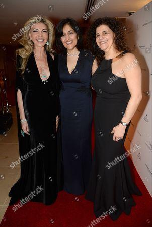 Lisa Tchenguiz, Shamim Sarif and Hanan Kattan