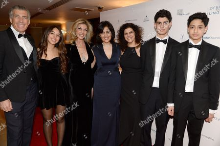 Editorial picture of 'Despite the Falling Snow' charity gala screening in aid of the Nelson Mandela Children's Fund at The May Fair Hotel, London, Britain - 23 Mar 2016