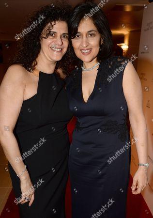 Stock Picture of Hanan Kattan and Shamim Sarif