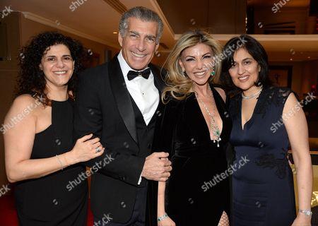 Stock Image of Hanan Kattan, Steve Varsano, Lisa Tchenguiz and Shamim Sarif