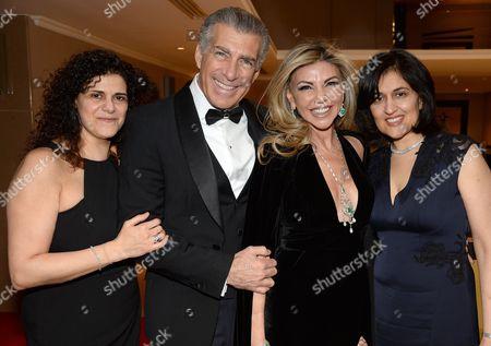 Hanan Kattan, Steve Varsano, Lisa Tchenguiz and Shamim Sarif