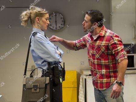 Robyn Addison as Carly, Warren Brown as Kent
