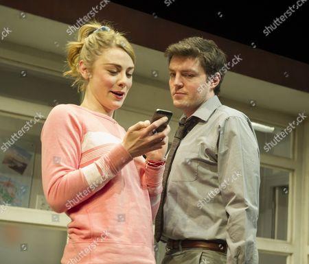 Stock Photo of Lauren O'Neil as Steph,  Tom Burke as Greg