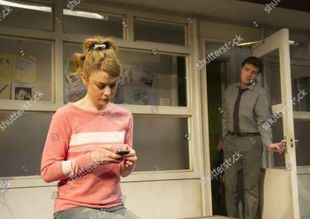 Stock Picture of Lauren O'Neil as Steph,  Tom Burke as Greg