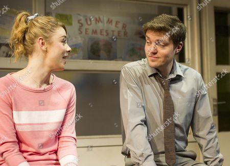 Lauren O'Neil as Steph,  Tom Burke as Greg