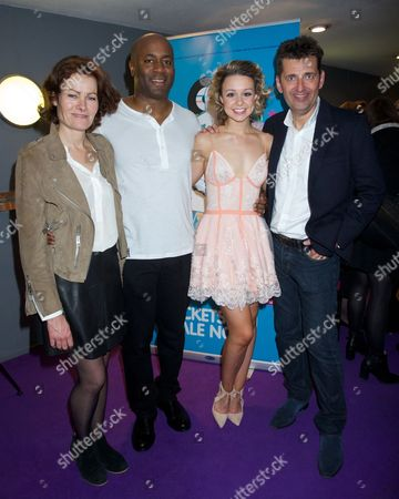 Janet Dibley, Nicholas Bailey, guest and Graham Bickley