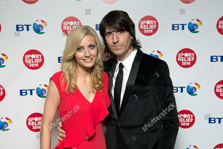 Lynsey Hipgrave with husband and Toploader guitarist Dan Hipgrave