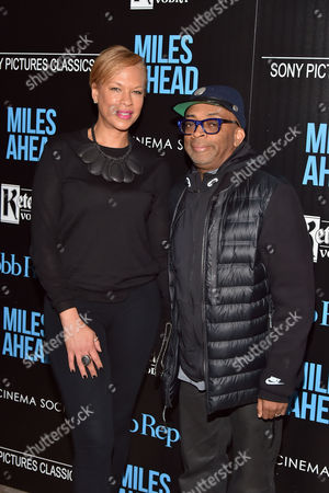 Stock Picture of Tonya Lee Williams, Spike Lee