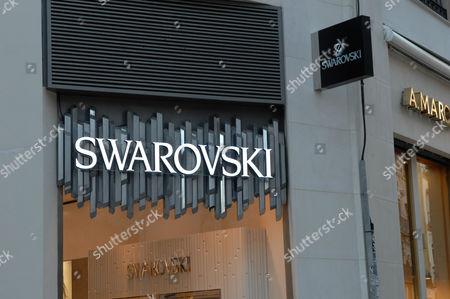 Swarovski shop in Malaga