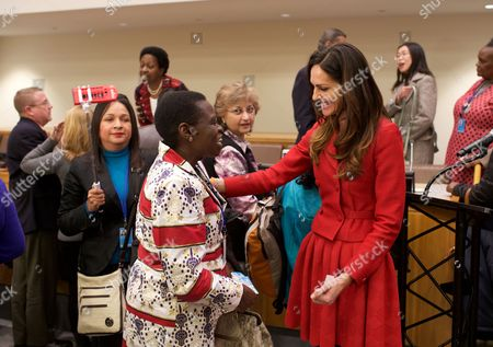 Editorial photo of Tasha Sandra Mota e Cunha de Vasconcelos at the United Nations, New York, America - 17 Mar 2016