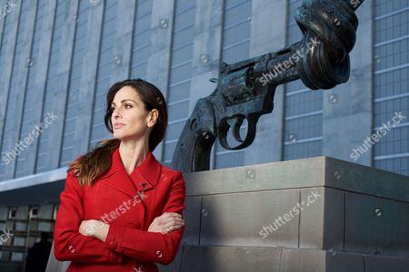 Editorial image of Tasha Sandra Mota e Cunha de Vasconcelos at the United Nations, New York, America - 17 Mar 2016