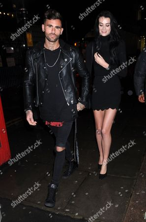 Stock Photo of Chris Perceval and Lucy Gascoyne
