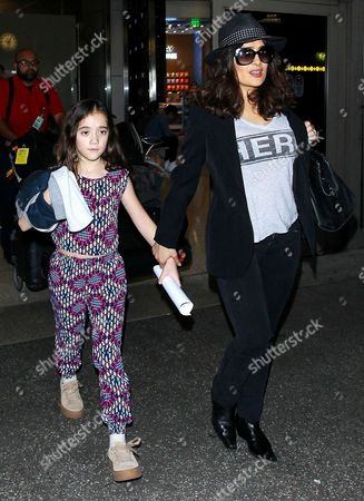 Salma Hayek and daughter Valentina Paloma Pinault