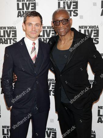 Hugh Dancy and Bill T Jones
