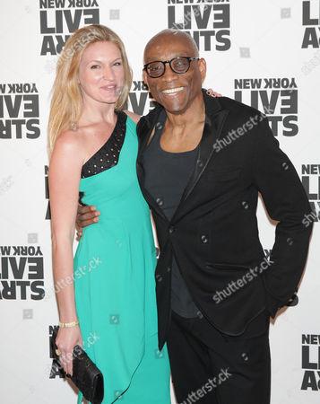 Sarah Arison and Bill T Jones
