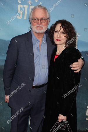 Chris Calkins and wife Bebe Neuwirth