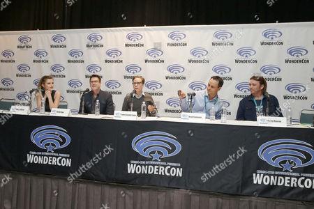 Bella Thorne, David Kaye, James Arnold Taylor, Brad Foxhoven, Kevin Munroe