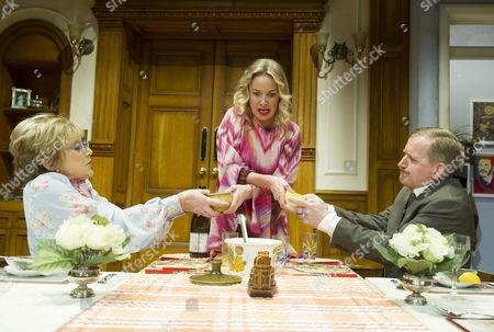Gillian Wright as Mary, Tamzin Outhwaite as Teresa, Matthew Cottle as William