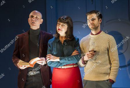 Guy Williams as Giles, Maureen Beattie as Juliette, Dyfan Dwyfor as Francis