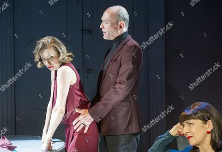 Lindsey Campbell as Alice, Guy Williams as Giles,  Maureen Beattie as Juliette,