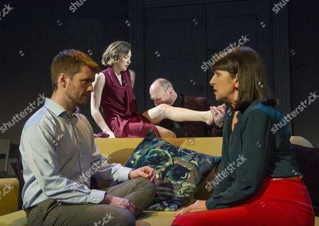 Stock Photo of Sean Biggerstaff as Ben,  Lindsey Campbell as Alice, Guy Williams as Giles, Maureen Beattie as Juliette,