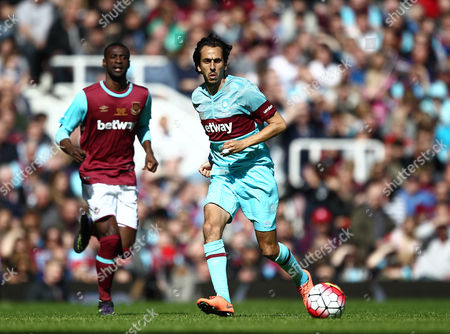 Yossi Benayoun of West Ham United All-Stars   during the Mark Noble Testimonial  match between West Ham United and West Ham United All Stars    played at Boleyn Ground , London on 28th March 2015