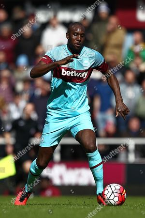 Carlton Cole of West Ham United All-Stars   during the Mark Noble Testimonial  match between West Ham United and West Ham United All Stars    played at Boleyn Ground , London on 28th March 2016