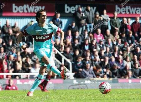 Yossi Benayoun for West Ham United All Stars  during Mark Noble Testimonial West Ham United v West Ham United All-Stars Monday at Upton Park Boleyn Ground London 