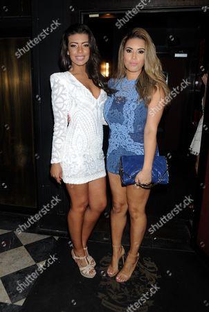 Rikaya Tagoe and Chantelle Tagoe