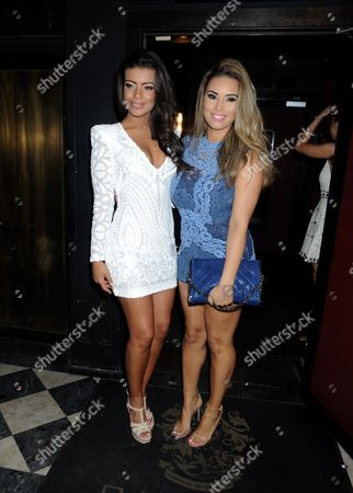 Stock Picture of Rikaya Tagoe and Chantelle Tagoe