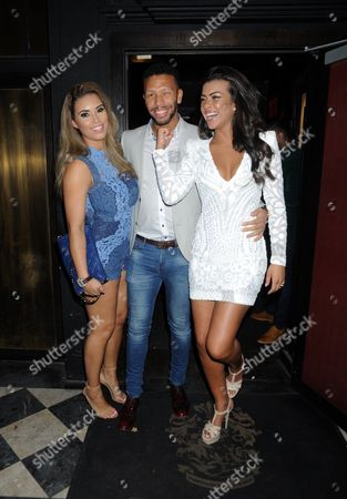 Editorial picture of Chantelle Heskey and Rikaya Tagoe's Birthday Party at Raffles, London, Britain - 28 Mar 2016