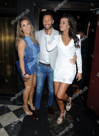 Stock Picture of Chantelle Tagoe, Lee Duncan and Rikaya Tagoe
