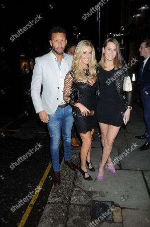 Lee Duncan, Leanne Brown and Jude Cisse