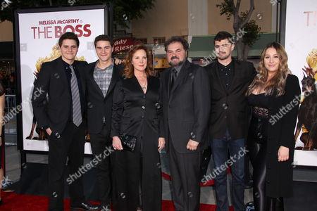 Elizabeth Perkins, Julio Macat and family